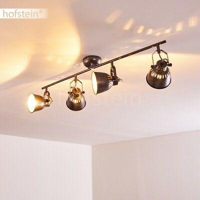 verstellbare LED Wohn Schlaf Raum Leuchte edle Flur Dielen Strahler Decken Lampe
