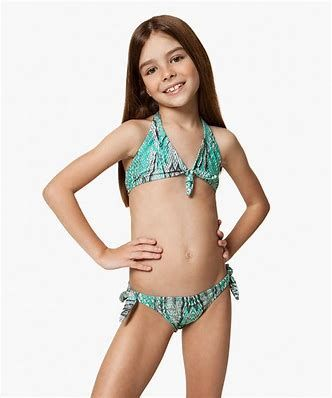 little tween girls bikini