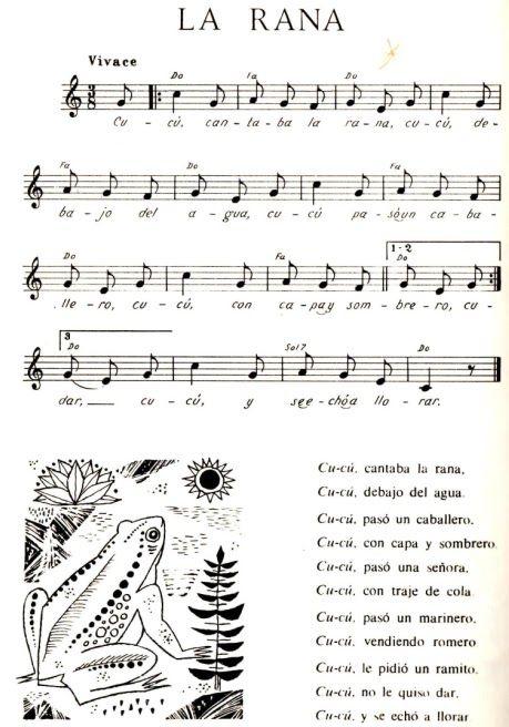 Canciones Infantiles Partituras De Canciones Canciones Canciones Infantiles