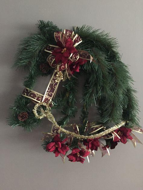 children gift Horse wreath animal lover wreath for your front door equine wreath