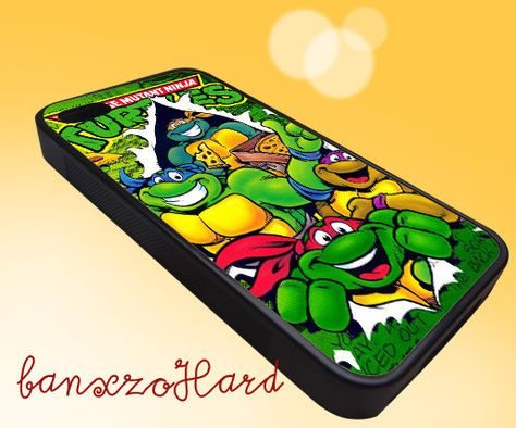 TMNT Ninja Turtle Warrior Hero  iPhone 4/4s/5/5s/5c by Baxnzohardz, $15.00