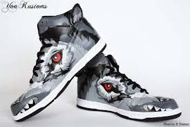 Fight Club Custom Nike Dunk Shoes by YoaKustoms | These Boots Were Made For  Walking | Pinterest | Nike dunks, Shopping and Fashion