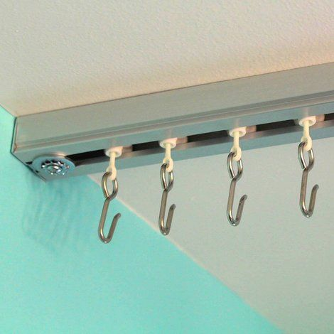 Ceiling Track Roller Hooks Hanging Room Dividers Fabric Room