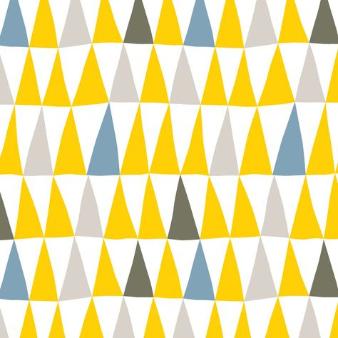 Items similar to 3 Original Prints Yellow and Gray Graphics on Etsy