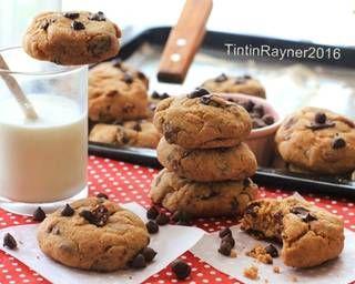Resep Cookie Monster Chewy Chocochips Cookies Trial New Recipe Oleh Tintin Rayner Resep Kue Camilan Makanan Resep