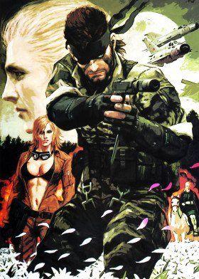Metal Gear Solid Mancave Poster Print Metal Posters Metal Gear Snake Metal Gear Metal Gear Rising