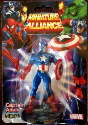 "Wolverine Individually packaged Marvel Miniature Alliance 2.75/"" PVC Figurine"