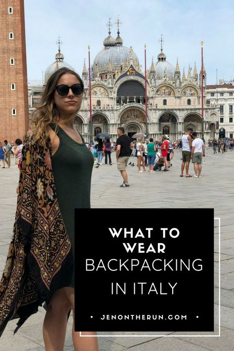 What to wear backpacking in Italy - You might be packing your bags right now for your next Italian getaway, and if you are, lucky you! Now, especially for us ladies, the real dilemma arises: How am I going to pack my entire wardrobe into my suitcase… or w