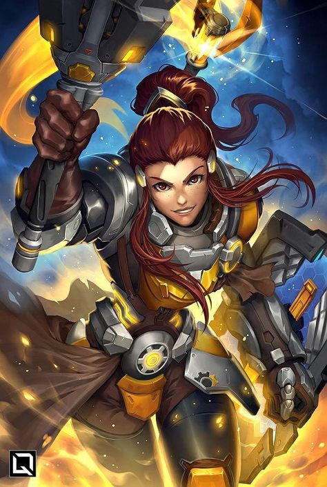 A series of illustrations depicting every hero in Overwatch performing their Ultimate abilities!