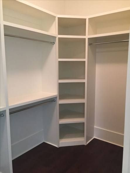 44 Ideas Bath Room Closet Corner Bedroom Closet Design Closet Remodel Corner Closet Shelves
