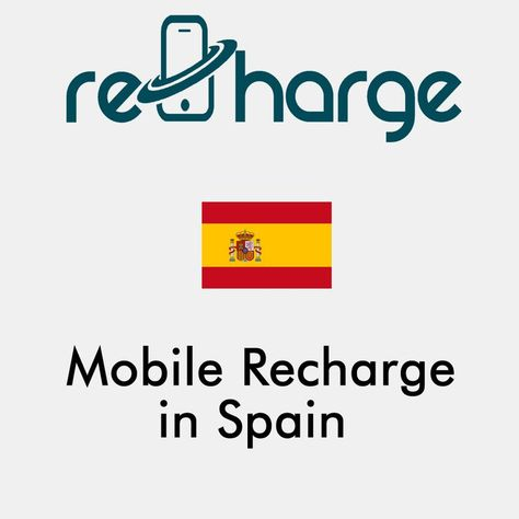 Mobile Recharge in Spain. Use our website with easy steps to recharge your mobile in Spain. Mobile Top-up Instant & Worldwide. You may call it mobile recharge, mobile top up, mobile airtime, mobile credit, mobile load or whatever you want #mobilerecharge #rechargemobiles https://recharge-mobiles.com/