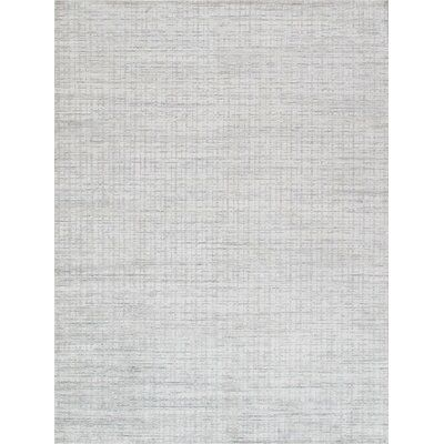 Pasargad Slate Hand Knotted Ivory Gray Area Rug Pasargad Wool Area Rugs Grey Area Rug
