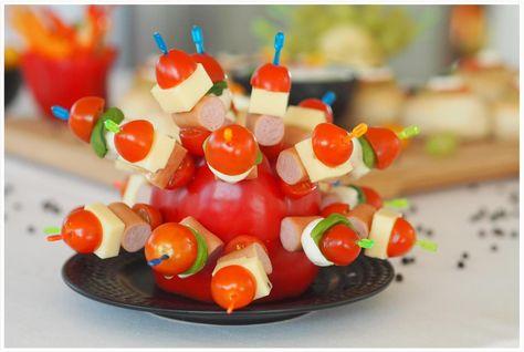 Photo of Für Kiga & Schule: Partyschlange & Fingerfood für´s gesunde Buffet – Food & Travel-Blog