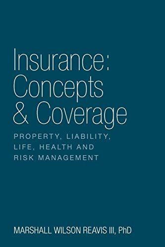 Download Pdf Insurance Concepts Coverage Free Epub Mobi Ebooks
