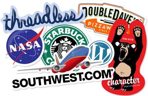 Custom Stickers Brand Marketing Ideas Pinterest Custom Stickers - Custom die cut stickers printing