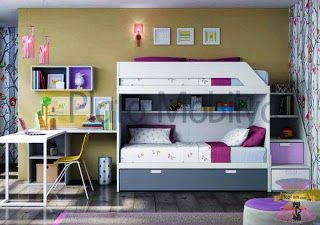 غرف نوم اطفال دورين مودرن Bunk Beds Bed Ikea Bed