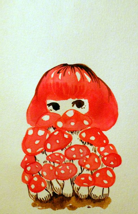 Arte Indie, Drawn Art, Mushroom Art, Mushroom Drawing, Hippie Art, Aesthetic Art, Vintage Images, Cute Art, Art Inspo