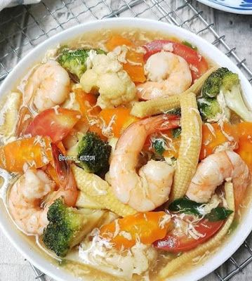 Capcay Siram Di 2020 Resep Masakan Resep Makan Malam