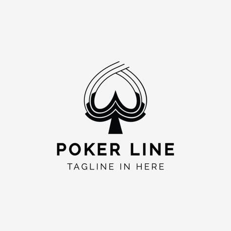 بوكر خط شعار قوالب Logo Templates Poker Templates