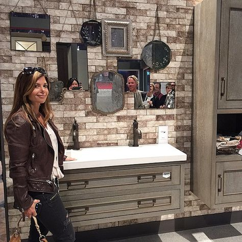 How many people can you tag in the mirrors? #GOLIATHCOMPANY #FLIPPINGVEGAS #SCOTT_YANCEY #AMIE_YANCEY