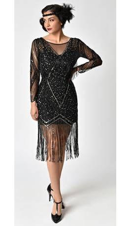 28+ Black flapper dress ideas