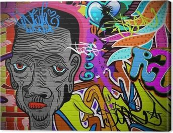 Lesly In Graffiti