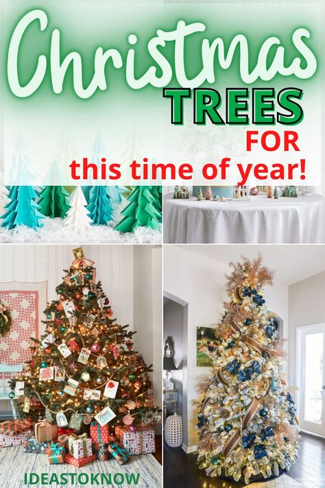 31 best Christmas tree ideas. These are the best Christmas decoration ideas using Christmas trees in 2020. Try out these Christmas tree ideas to get the best for your Christmas party. #christmasideas #christmastrees