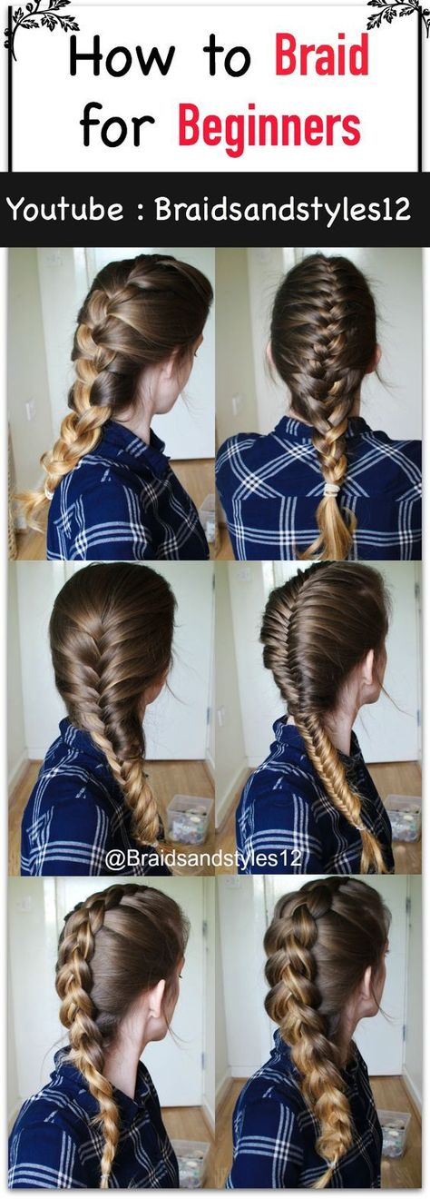 A Whole Month Of New Braided Hairstyles With These 33 Easy Braids     A Whole Month Of New Braided Hairstyles With These 33 Easy Braids   HAIR    Pinterest   French fishtail braids  French fishtail and Fishtail braids