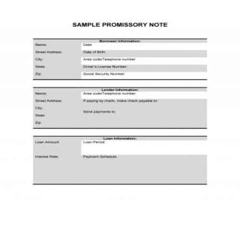 50 Free Useful Promissory Note Templates Ms Word Pdf Besty Templates Notes Template Promissory Note Templates