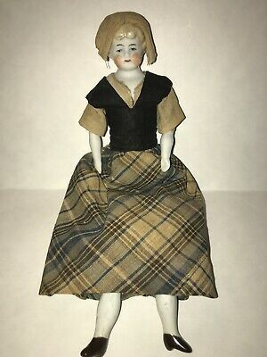 9 5 Germany Blonde Low Brow China Head In Good Original Condition