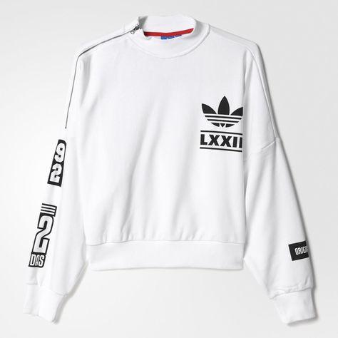 adidas pullover weiß lxxii