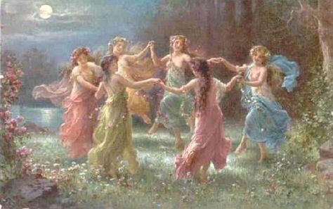 Dance of the Wild Faeries - playlist mit fairy music Bastet, Renaissance Kunst, Art Aquarelle, Fairytale Art, Classical Art, Fairy Art, Fairy Music, Divine Feminine, Pretty Art