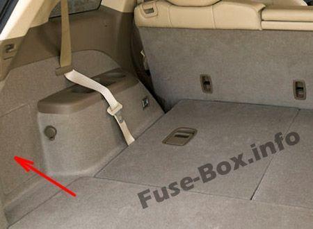 Acura Mdx Yd2 2007 2008 2009 2010 2011 2012 2013 Fuse Box Location Acura Mdx Fuse Box Acura