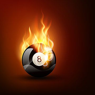 Game Ball 8 Ball Billiard Png And Vector With Transparent Background For Free Download In 2021 Ball Shots Games Pool Balls