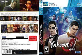 Yakuza 0 Capa Game Pc Com Imagens Capas Game Pre Pago