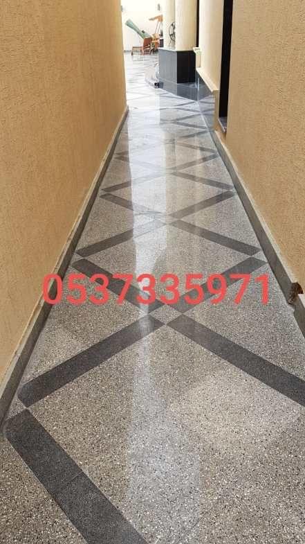 جلي بلاط في الرياض شركة اللؤلؤة Flooring Marble Tile Floor