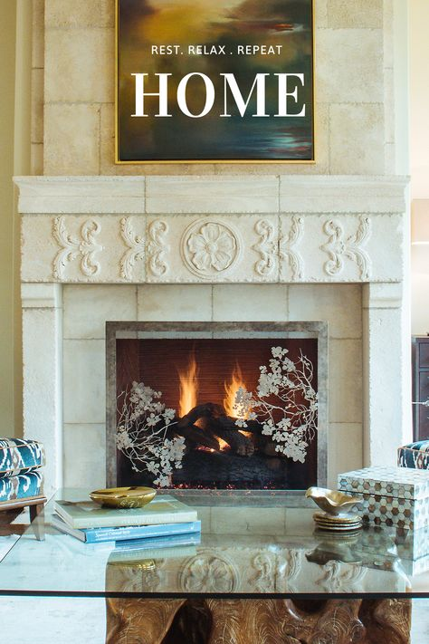 #fireplacedecor#cozy#home#interiordesign
