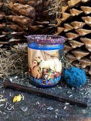 Rita's Tame Lamb 2 Day Hoodoo Ritual Candle - Overcome