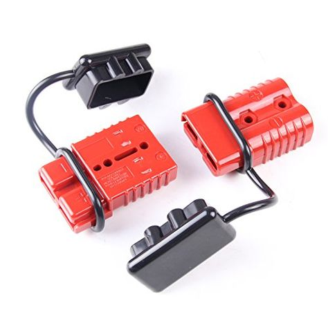 600 Volts Quick Connector and Disconnect Power Battery Plug Kit for Winch