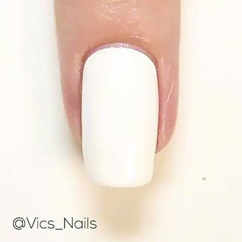 Video about nail color changing technique. New trend of nail color.
