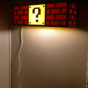 Colorful Mario Question Mark Block Lamp Nintendo Roots In 2020