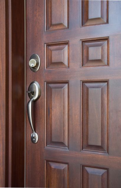 Nothing says quality like a front door  10 things to know before choosing a material and lockset