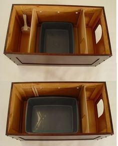 Cat Furniture, Wood Chest Is Beautiful Cat Litter Box Cover. Or Cat  Furniture Chests For Use As Catu0027s Private Dining Area, Away From Dogs,  Toddlers.