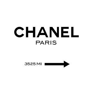 Chanel Paris Poster Chanel Poster Chanel Art Print Neon Signs Quotes