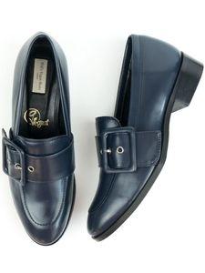 Schnalle Loafer Blau Damen Will's Vegan Shop | Fair Shoes