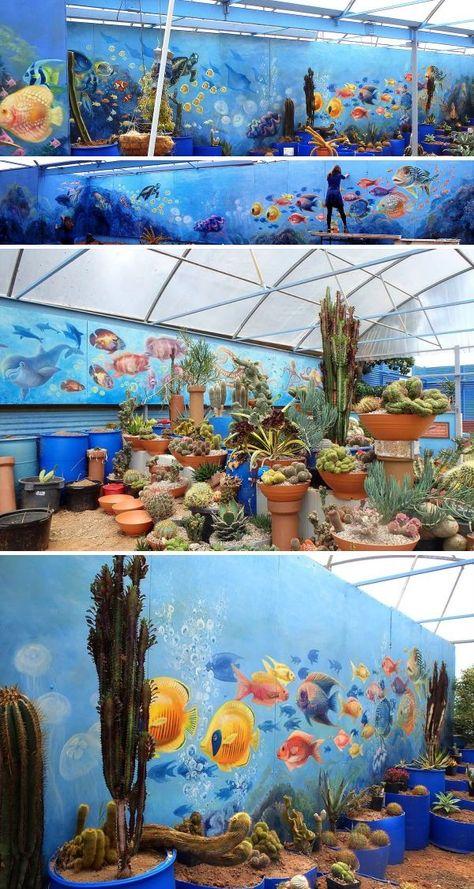 Murals - Cactus Reef