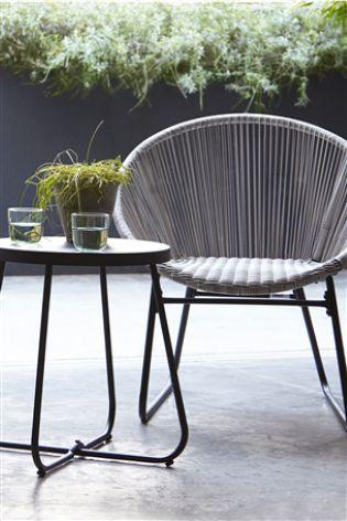 Brilliant Grey Garden Essentials Zanzibar Tea For 2 Set By Charles Evergreenethics Interior Chair Design Evergreenethicsorg
