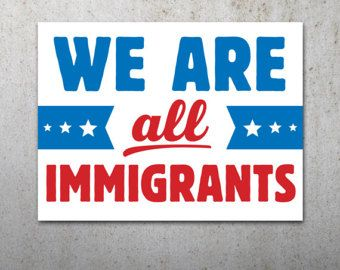 picture relating to Printable Protest Signs named Flexibility Immigration PRINTABLE Protest Poster Artwork magazines
