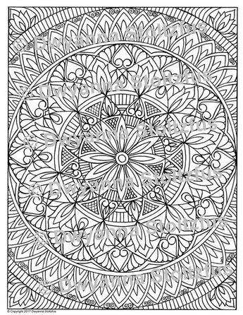 Stress Relieving Pattern 17 Coloring Page Jpg Pattern Coloring