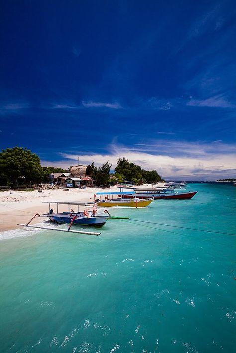 Gili Trawangan, Lombok, Indonesia. My paradise island! Miss this place dearly <3